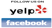 facebook and yelp